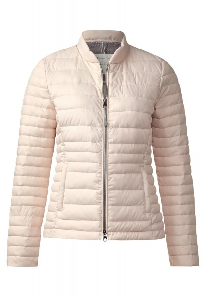 Street One - Leichte Steppjacke Karla in Star White