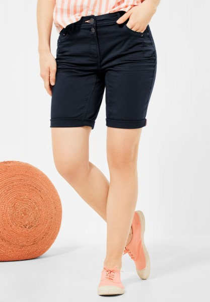 CECIL - Loose Fit Shorts in Deep Blue