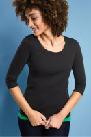 Street One - Basic Shirt Pania in Black