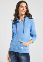CECIL - Hoodie Sweatpullover in Powder Blue Melange