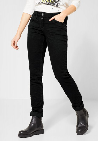 CECIL - Loose Fit Denim Scarlett in Black Denim