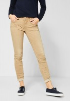 Street One - Colour-Denim Jane in Light Sand Colour Denim