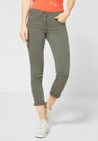 CECIL - Colour Denim Charlize in Simply Khaki