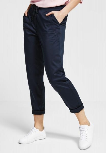 CECIL - Baumwoll Joggpants Chelsea in Deep Blue