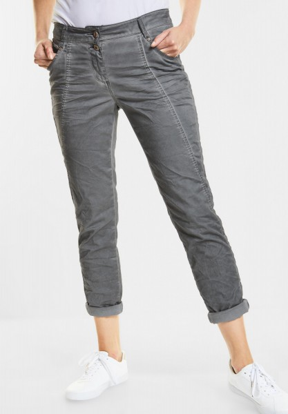 CECIL - Crash-Hose New York in Graphit Light Grey