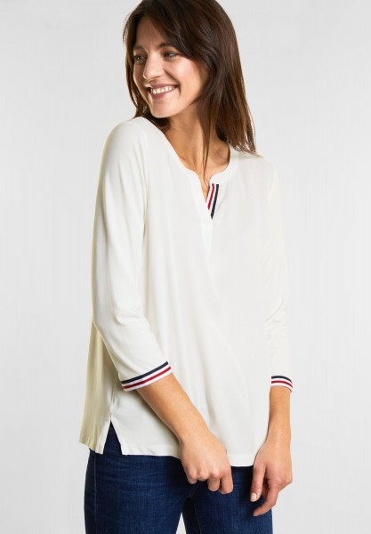 street-one-matmix-shirt-mit-streifen-in-off-white