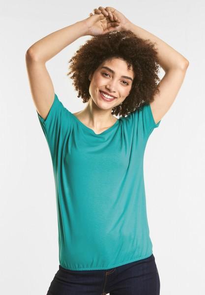 Street One - Weiches Shirt Gunja in Sunny Aqua