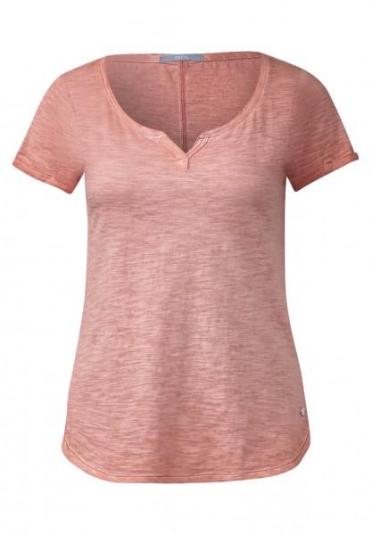 CECIL - Basic Melange-Shirt Lynn