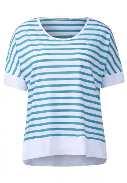 CECIL - Colourblock-Streifenshirt