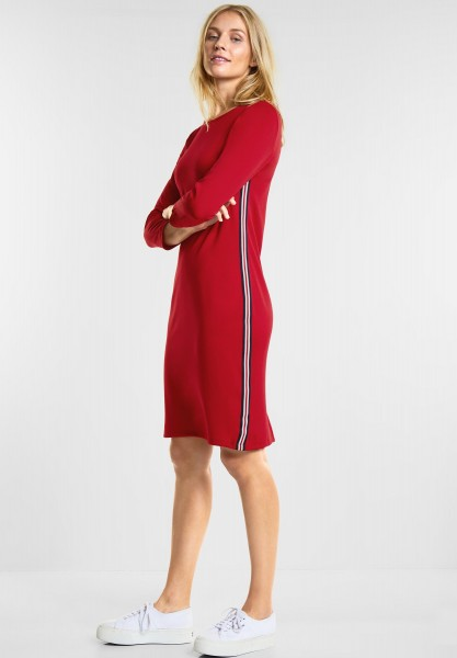 Street One - Sportliches Kleid in Pure Red