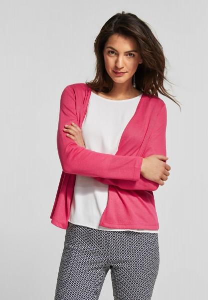 Street One - Softe Strickjacke Nette in Dark Blossom Pink