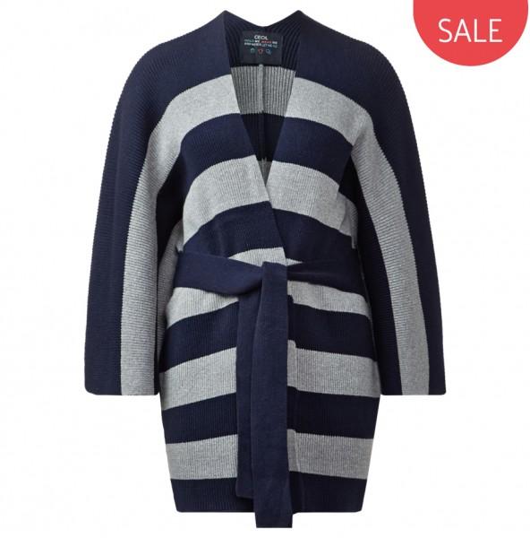 CECIL - Warme Kimono-Strickjacke
