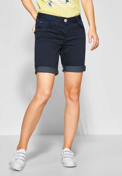 CECIL - Denim Shorts New York in Deep Blue