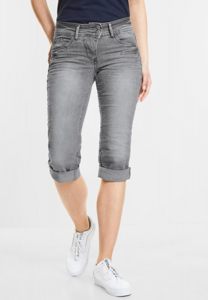 CECIL - Coole Denim Scarlett in Mid Grey Used Wash
