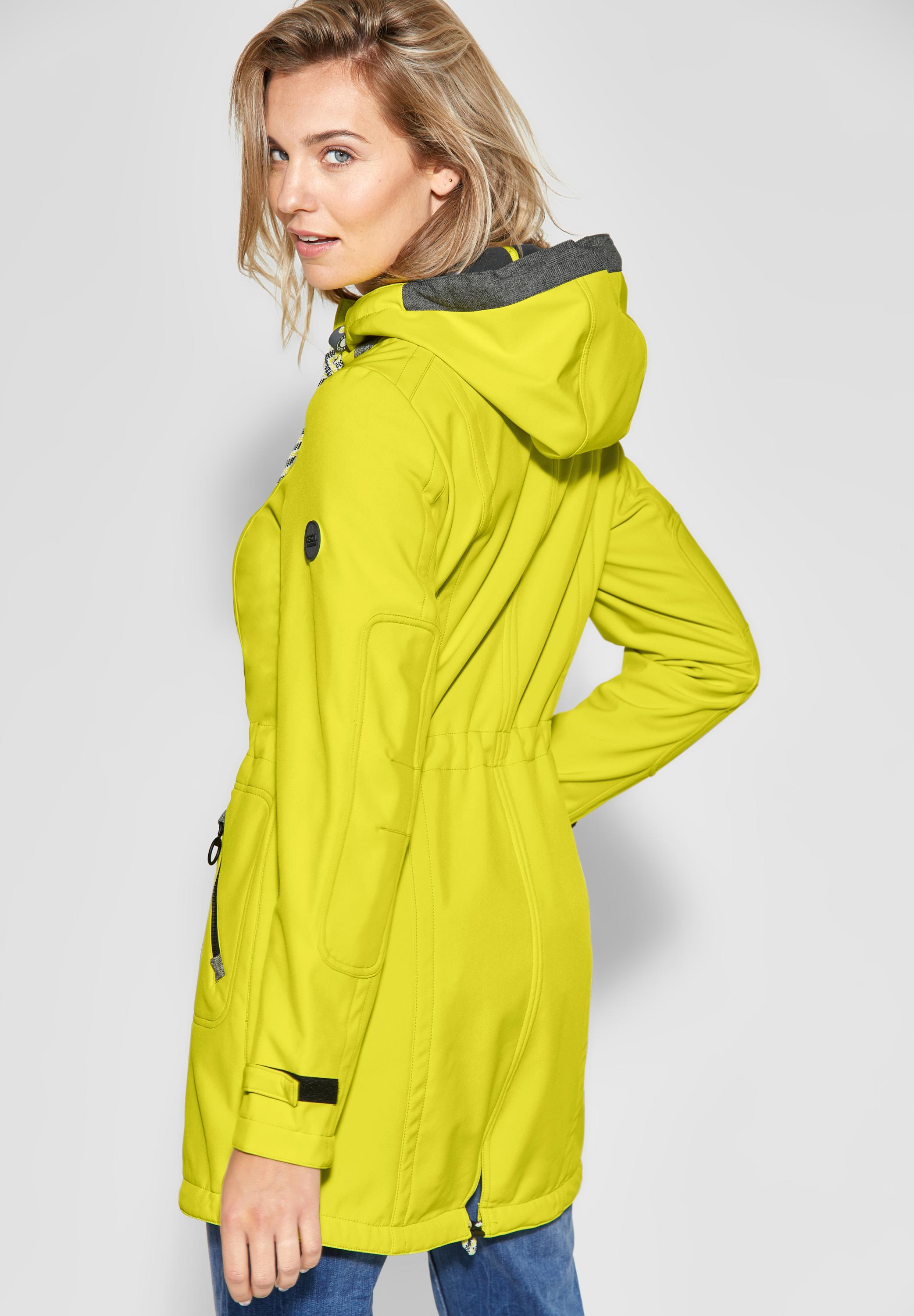 100% authentic thoughts on more photos CECIL - Sportliche Softshell-Jacke in Ultra Yellow