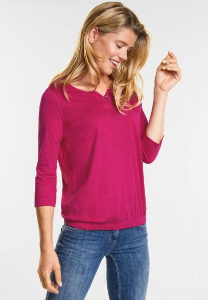 CECIL - Weiches Shirt Judith in Bright Magenta