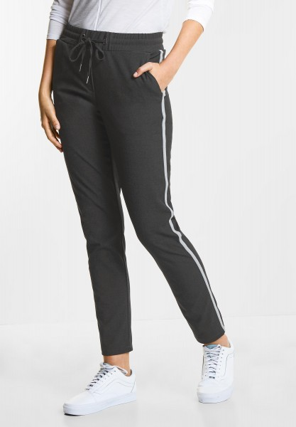 CECIL Melange Casual Fit Tracey in Dark Graphite Grey