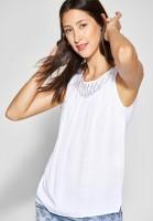 Street One - Shirt mit Spitze Tinka in White