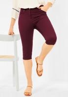 CECIL - Slim Fit Hose in High Waist in Red Grape