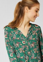 CECIL - Bluse mit Paisley-Muster in Lucky Clover Green