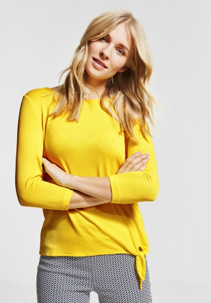 Street One - Softes Shirt Mathea in Sunshine Yellow