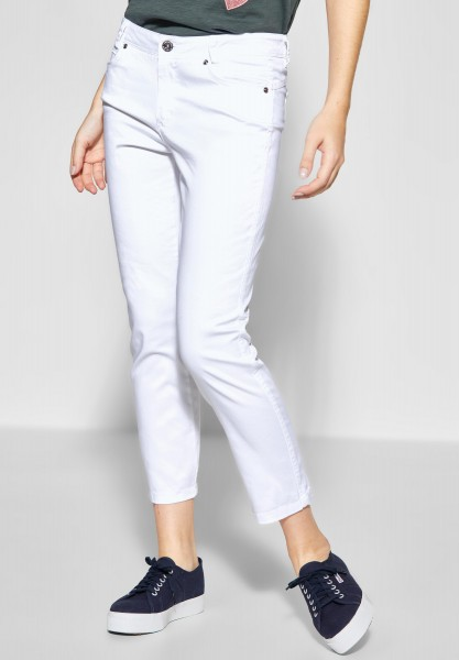 Street One - Casual Fit Hose Yulius in White