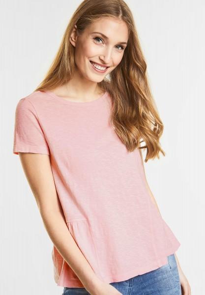 CECIL - T-Shirt mit Schößchen in Soft BlossomCECIL - T-Shirt mit Schößchen in Soft Blossom