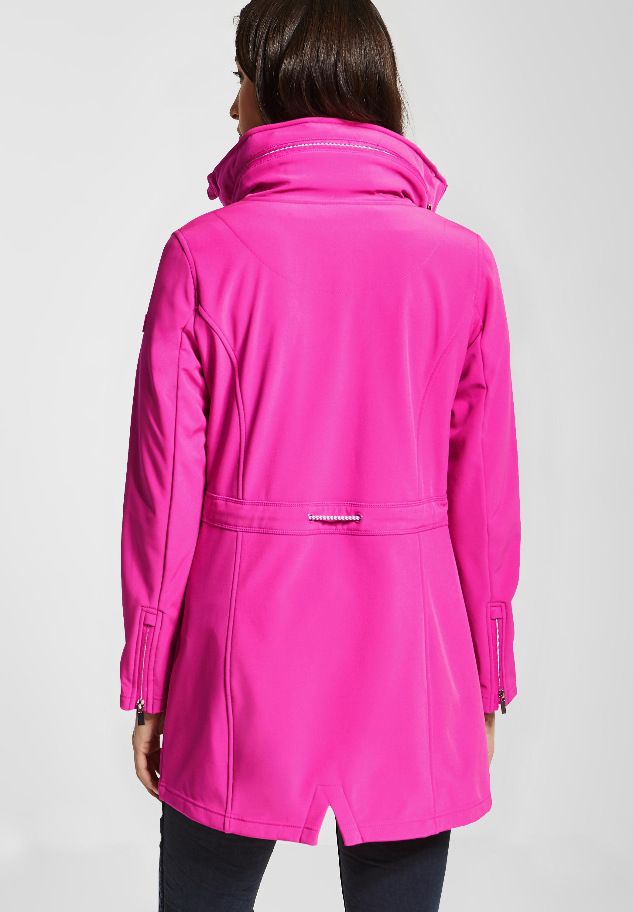 Street One Softshell Mantel in Cyber Pink