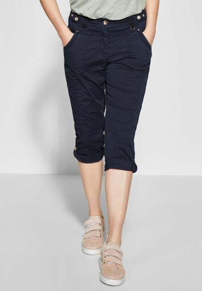 CECIL - Loose Fit Hose New York in Deep Blue