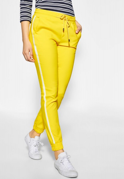 Street One - Loose Fit Joggpants Fay in Sunshine Yellow
