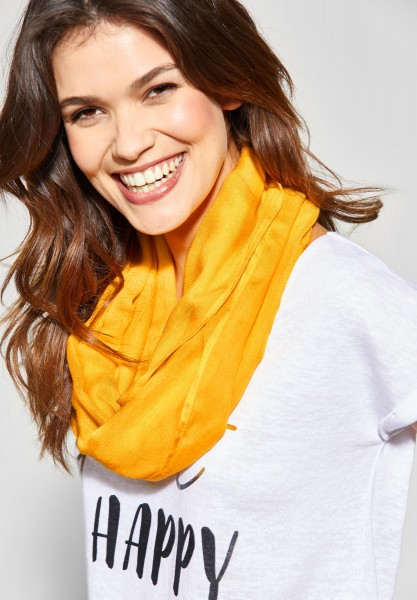 Street One - Softer Basic Loop in Bright Clementine