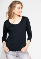 Street One - Shirt im Basic-Style in Neo Grey