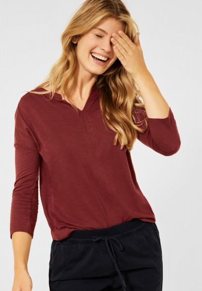 CECIL - Shirt im Tunika Style in Copper Brown