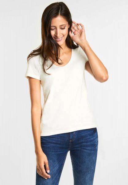Street One - Basic Shirt Pania in Off White