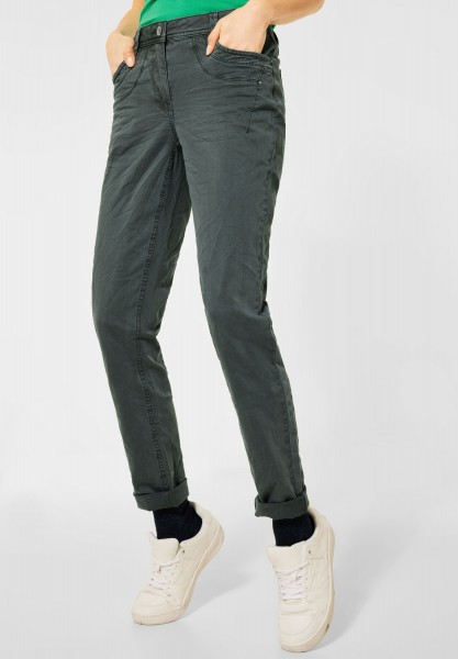 CECIL - Casual Fit Denim in Slate Green