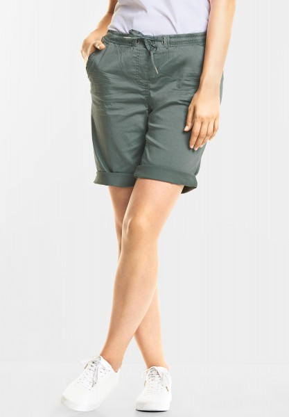 CECIL - Lässige Shorts Chelsea in Fog Green