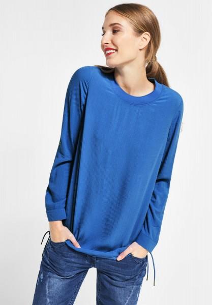 CECIL - Strukturierte Bluse in Cornflower Blue