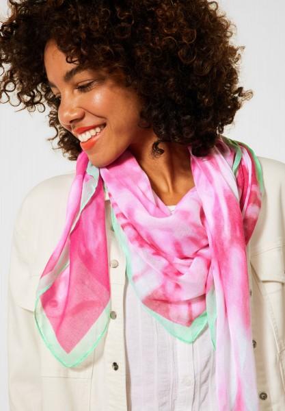 Street One - Schal in Batik Optik in Eden Pink