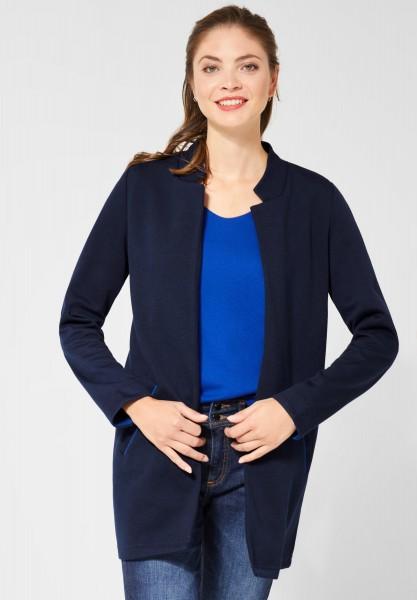 Street One - Indoor Jersey Mantel in Deep Blue