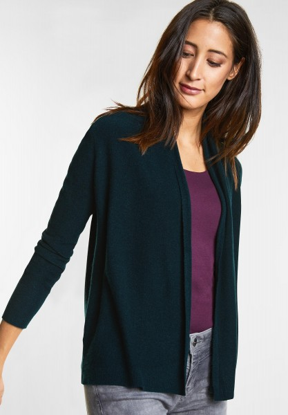 Street One - Weiche Strickjacke Layka in Deep Ivy