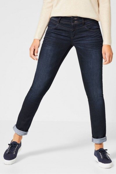 Street One - Casual Fit Denim Jane in Blue Soft Wash