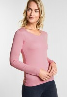 CECIL - Organic Baumwoll Shirt Pia in Soft Rose