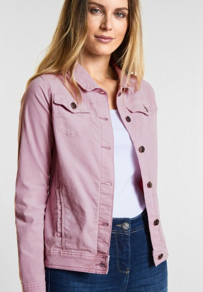 CECIL - Coole Cord Jacke in Dusty Rose