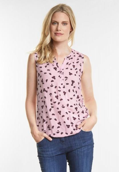 CECIL - Herzchenprint Bluse in Soft Blossom