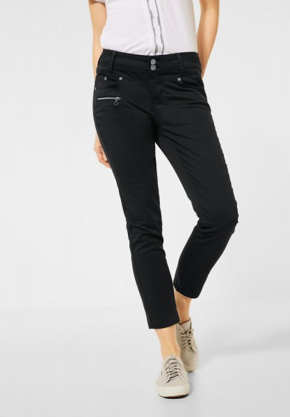 Street One - Casual Fit Hose in Inch 28 in Graphite Grey