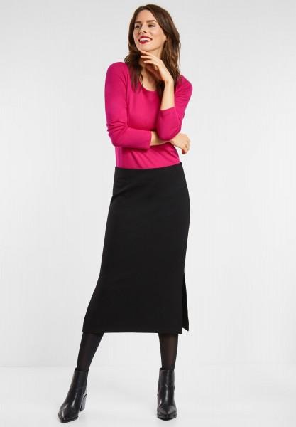 Street One - Softes Basic Shirt Lanea in Azalea Pink