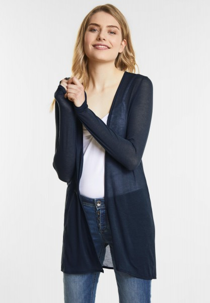 Street One - Zarte Shirtjacke in Deep Blue