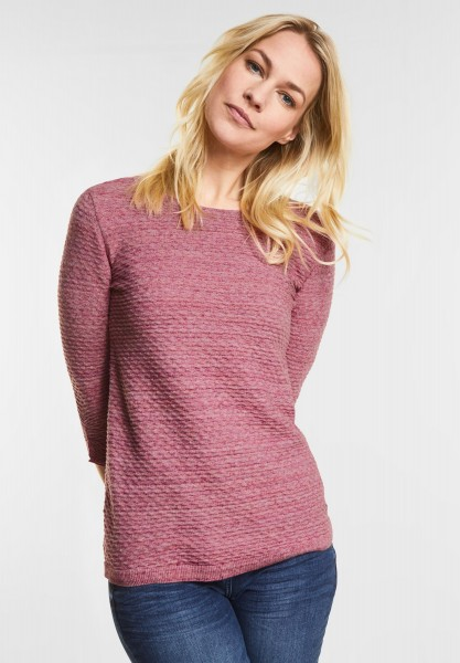 CECIL Struktur-Pulli Alva in Magic Pink