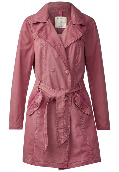 Street One - Trenchcoat Lieselotte in Fuchsia Blush