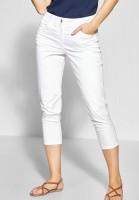 CECIL - Glitzer-Detail Hose Victoria in White